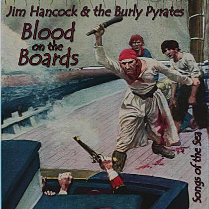 Blood on the Boards CD cover 49k